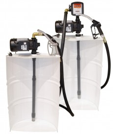 VERTICAL KITS WITH TELESCOPIC TUBE AND AG-88 (0,74kW) PUMP